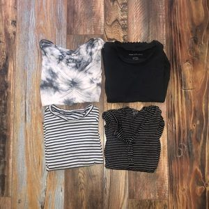 4 american eagle shirts